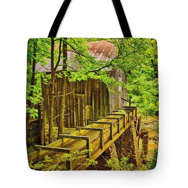 Pine Run Mill Tote Bag