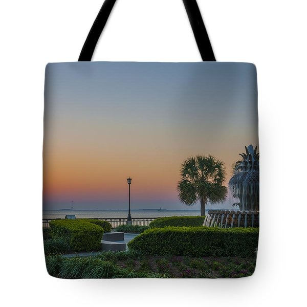 Tote Bag featuring the photograph Dawns Light by Dale Powell
