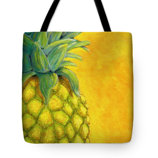 Pineapple Tote Bag by Karyn Robinson