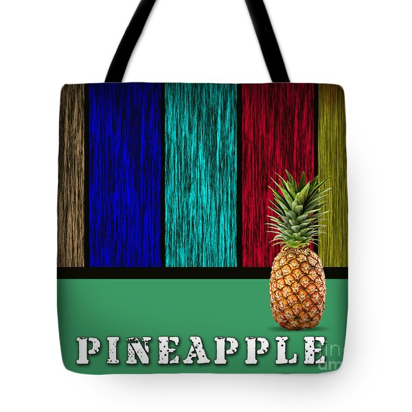 Pineapple Tote Bag by Marvin Blaine