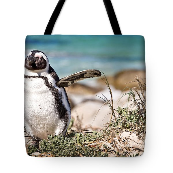 Happy Penguin Tote Bag
