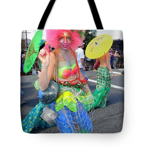 Tote Bag featuring the photograph Pink Afro by Ed Weidman