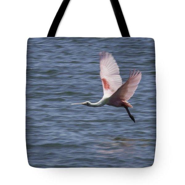 Pink And Blue IIi Tote Bag