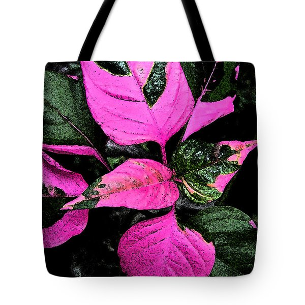 Pink And Green Tote Bag by Aimee L Maher Photography and Art Visit ALMGallerydotcom