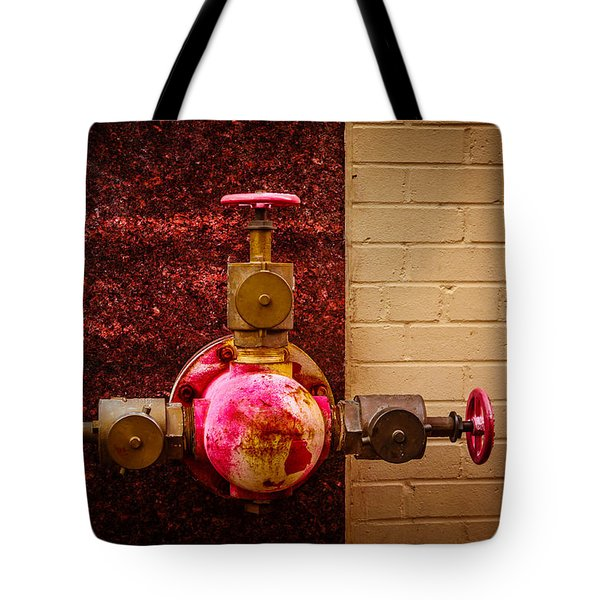 Pink And Rusted Tote Bag