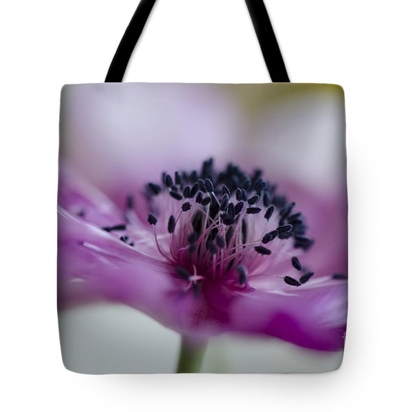 Pink Anemone  Tote Bag by Nicole Markmann Nelson