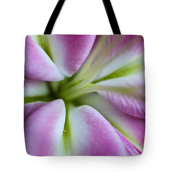 Pink Asiatic Lily Tote Bag