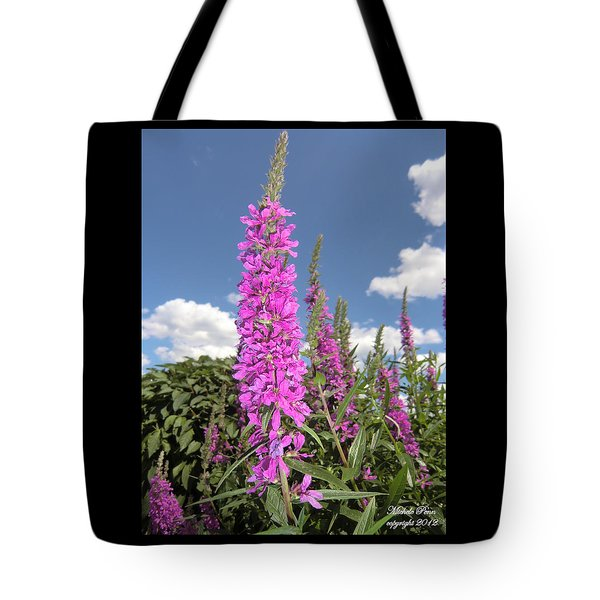 Pink Brilliance Tote Bag