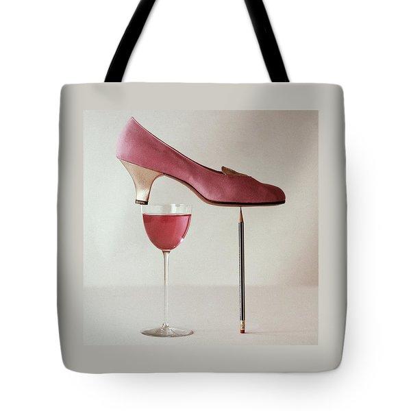 Pink Capezio Pump Tote Bag