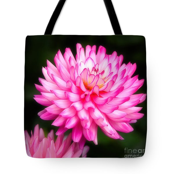 Pink Chrysanths Tote Bag