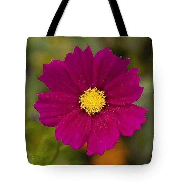Pink Cosmos 3 Tote Bag