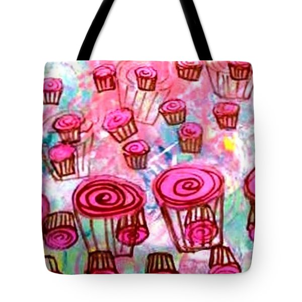 Pink Cupcake Dream Tote Bag