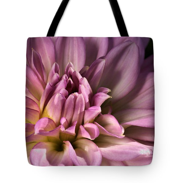 Pink Dahlia's Dream Tote Bag by Joy Watson