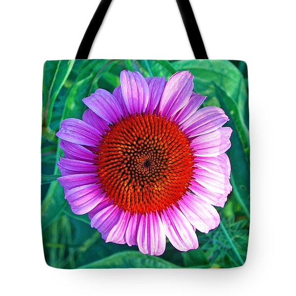 Pink Daisy By Jan Marvin Tote Bag