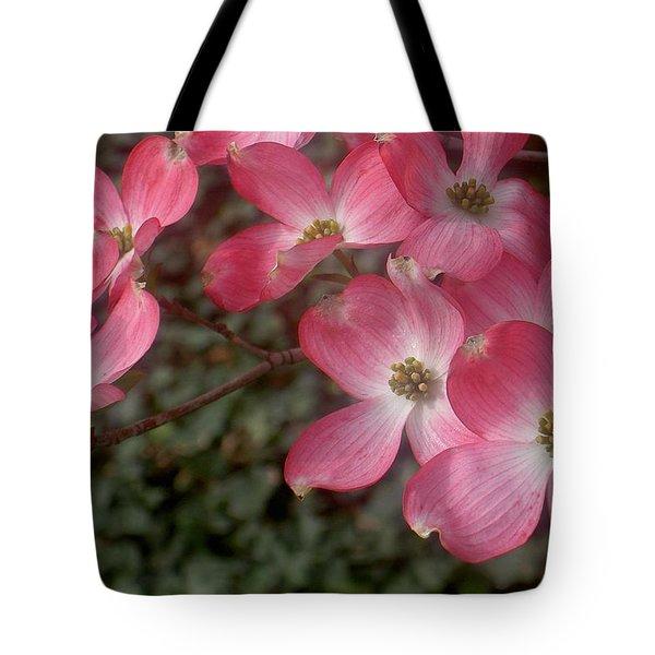 Pink Dogwood Delight Tote Bag