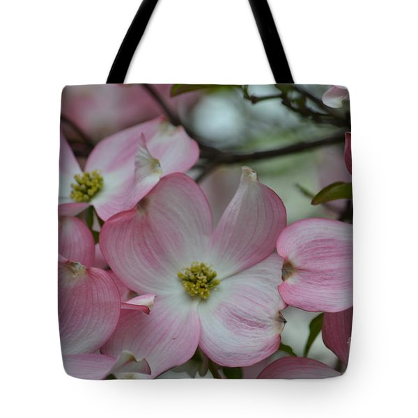 Pink Dogwood Tree Tote Bag