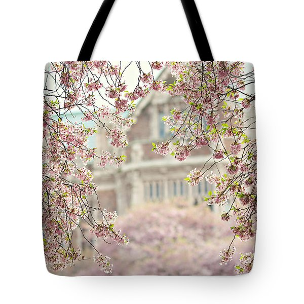 Pink Dream Tote Bag by Sylvia Cook