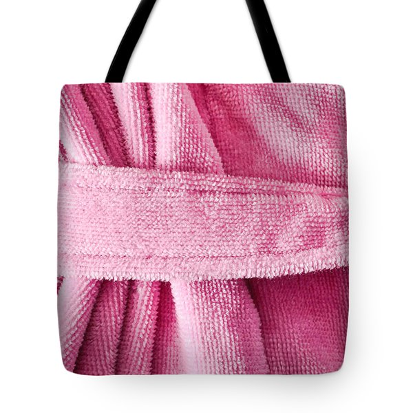 Pink Dressing Gown Tote Bag