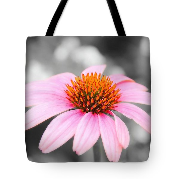 Pink Tote Bag by Elizabeth Budd