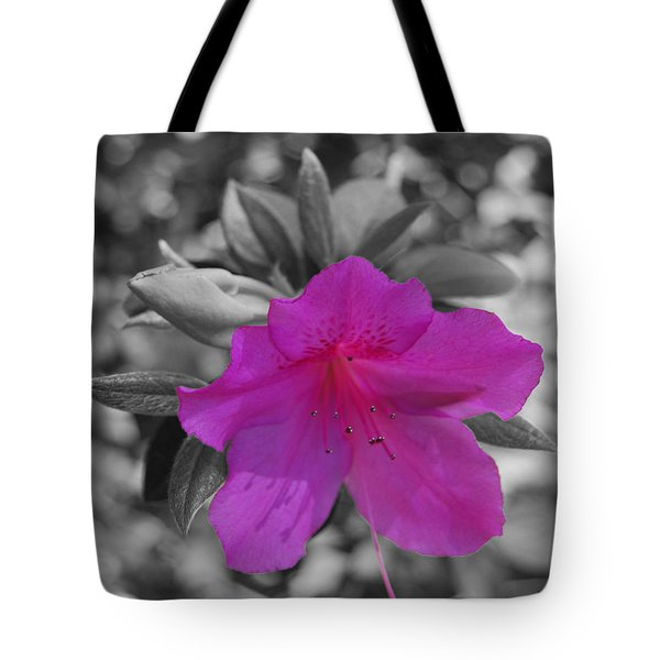 Tote Bag featuring the photograph Pink Flower 2 by Maggy Marsh