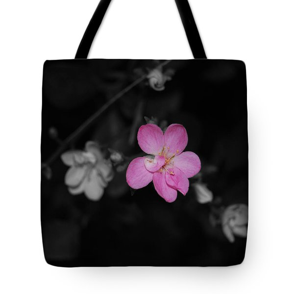 Tote Bag featuring the photograph Pink Flower  by Maggy Marsh