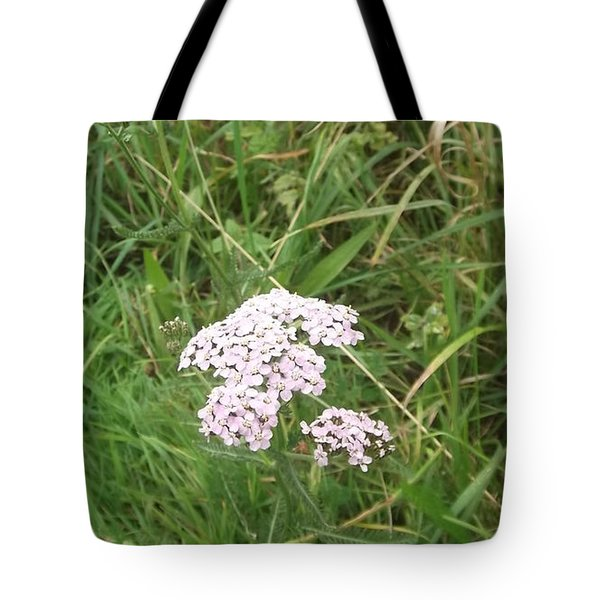 Pink Flowers Tote Bag by John Williams