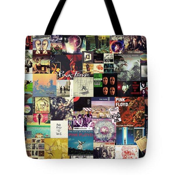 Pink Floyd Collage I Tote Bag