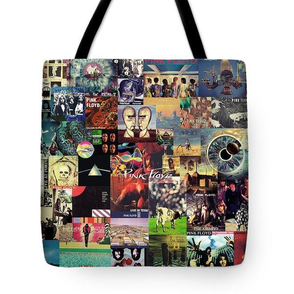 Pink Floyd Collage II Tote Bag