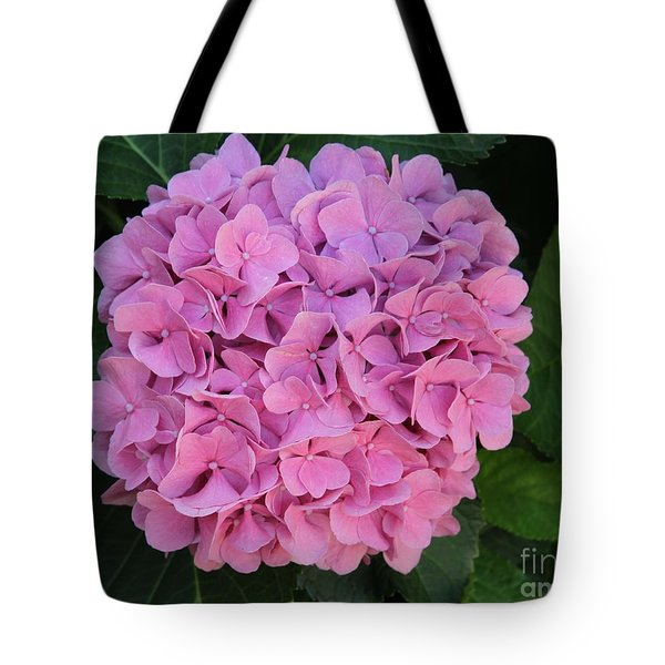 Pink Hydrangea All Profits Benefit Hospice Of The Calumet Area Tote Bag