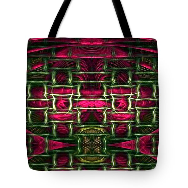 Tote Bag featuring the painting Pink Illusion by Rafael Salazar