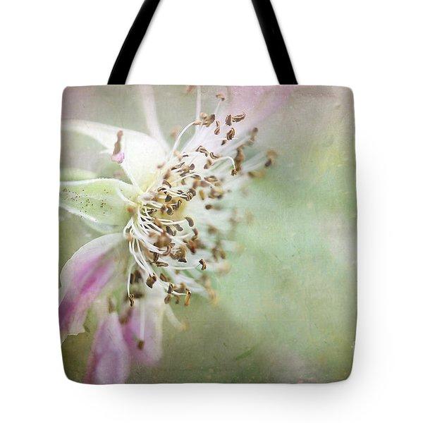 Pink Impression Tote Bag by Teresa Zieba