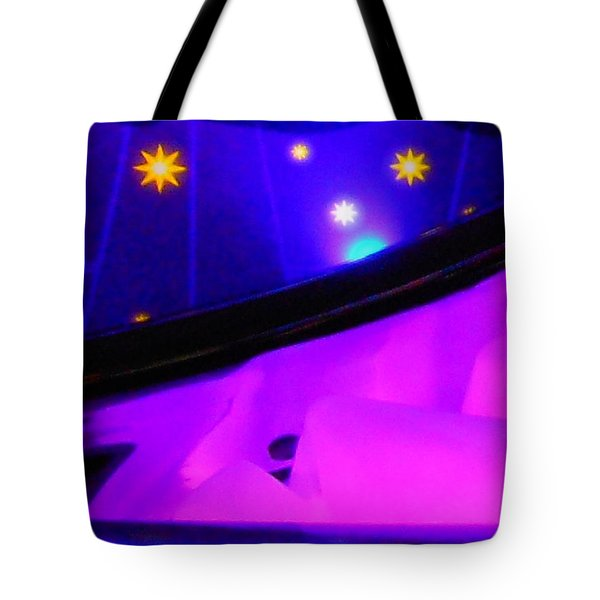Pink In The Cosmos Tote Bag by James Welch