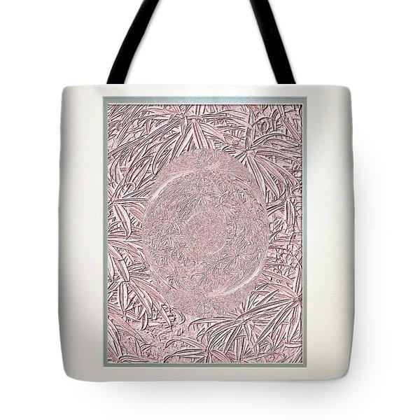 Tote Bag featuring the digital art Pink Invitation  by Oksana Semenchenko