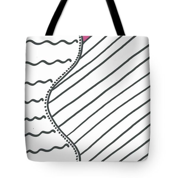 Pink Tote Bag by Jill Lenzmeier