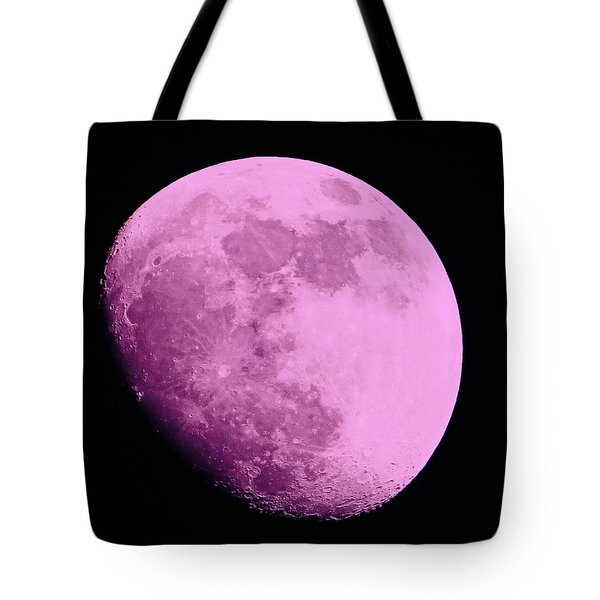 Pink Moon Tote Bag by Tom Gari Gallery-Three-Photography
