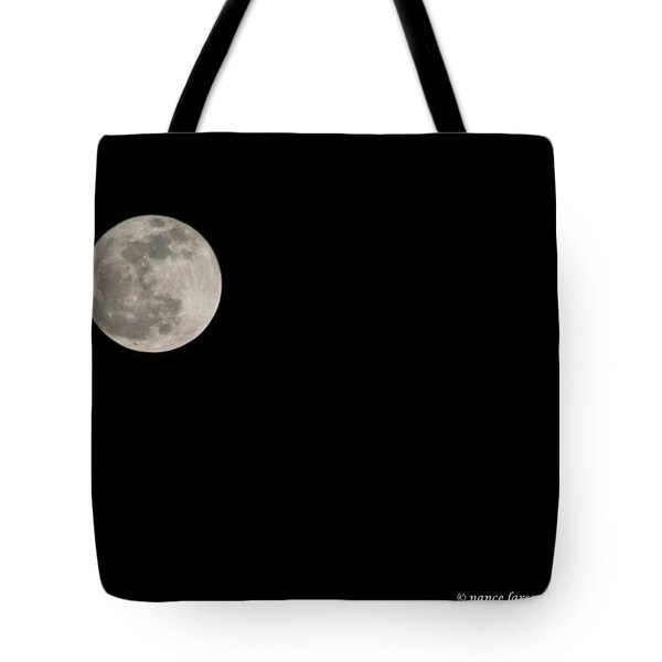 Pink Moon Tote Bag