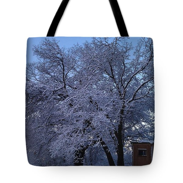 Pink Oak Tote Bag