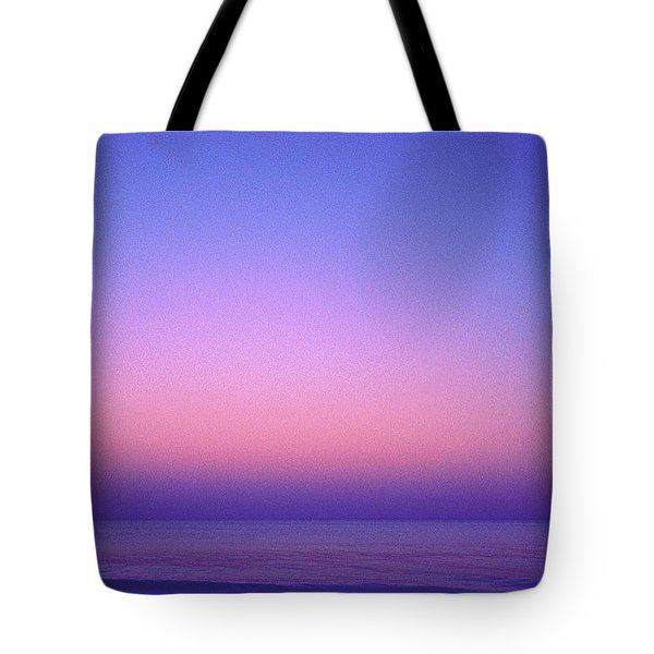 Tote Bag featuring the photograph Pink Ocean by Carol Whaley Addassi