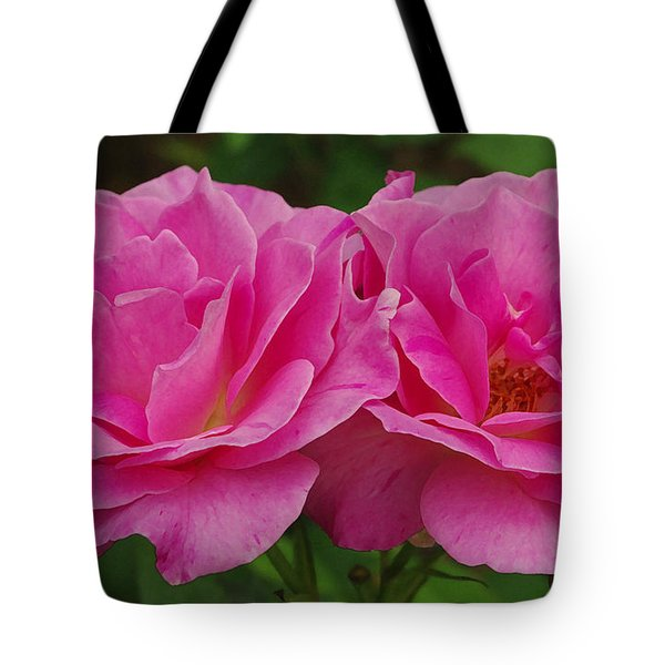Tote Bag featuring the photograph Pink Passion by James C Thomas