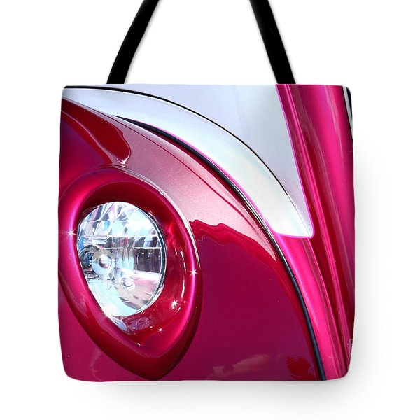Pink Passion Tote Bag by Linda Bianic