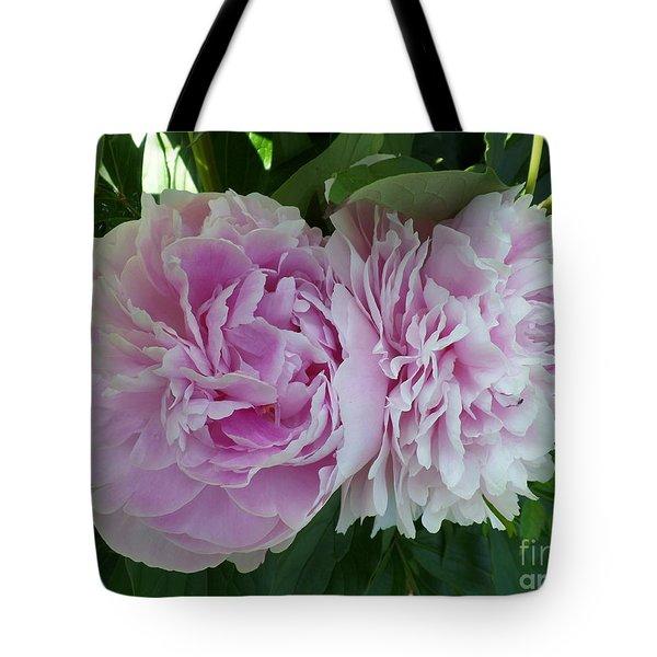 Pink Peonies 2 Tote Bag
