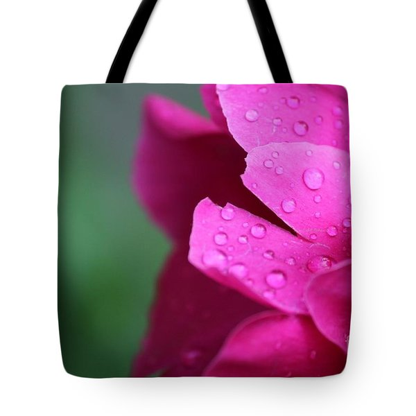 Tote Bag featuring the photograph Pink Peony  by Ann E Robson