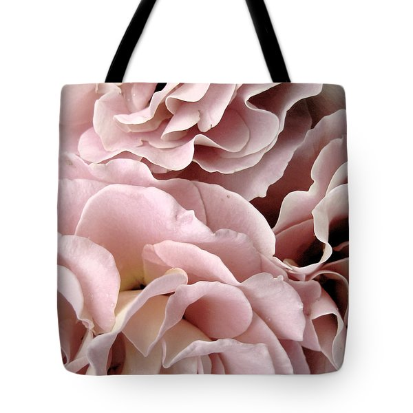Pink Petal Profusion Tote Bag by Ann Powell