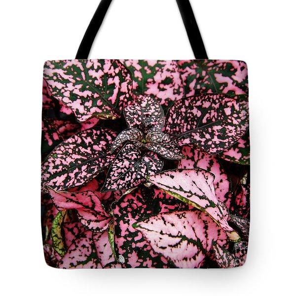 Pink - Plant - Petals Tote Bag