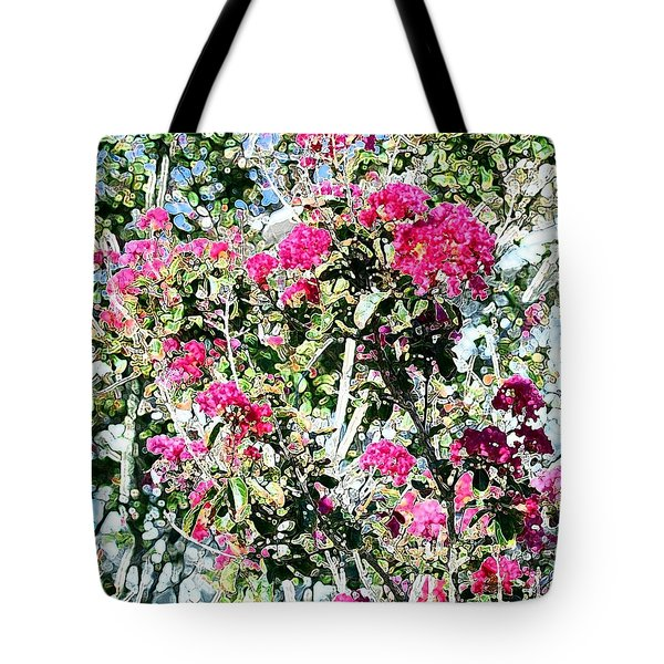 Pink Profusion Tote Bag by Ellen O'Reilly