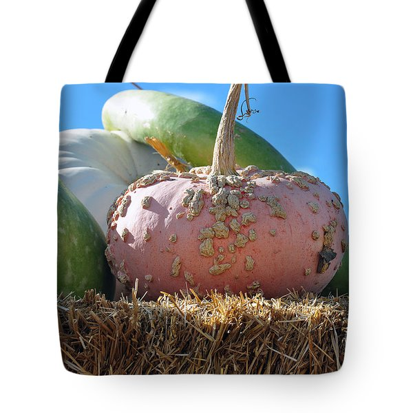 Pink Pumpkin And Friends Tote Bag