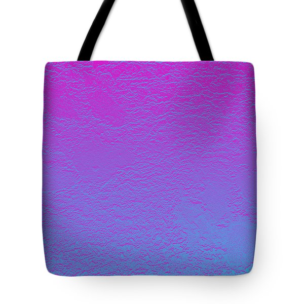 Pink Purple Blue Tote Bag