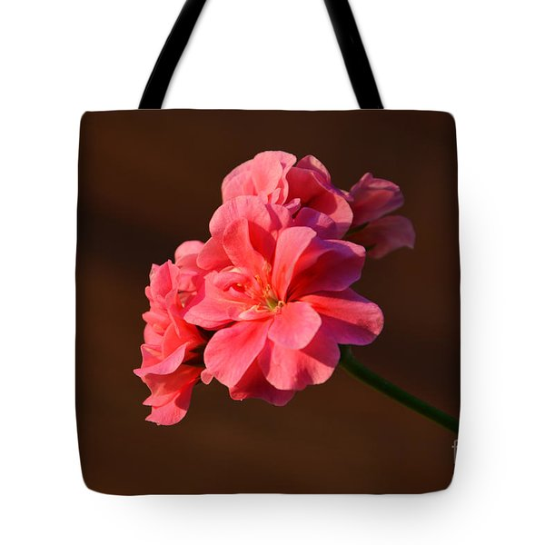 Tote Bag featuring the photograph Pink by Ramona Matei