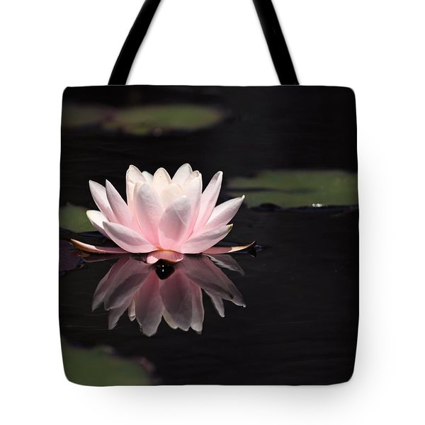 Pink Reflection Tote Bag