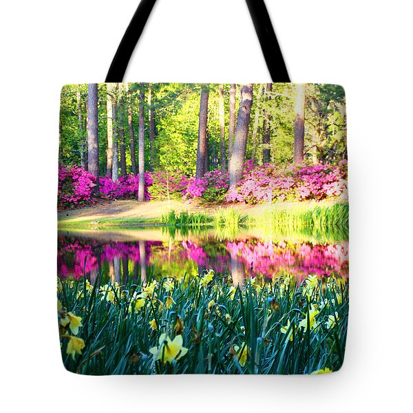 Pink Reflections By Jan Marvin Tote Bag